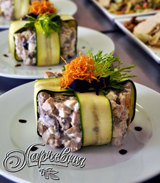 блюда для ресторана с фото и рецептами